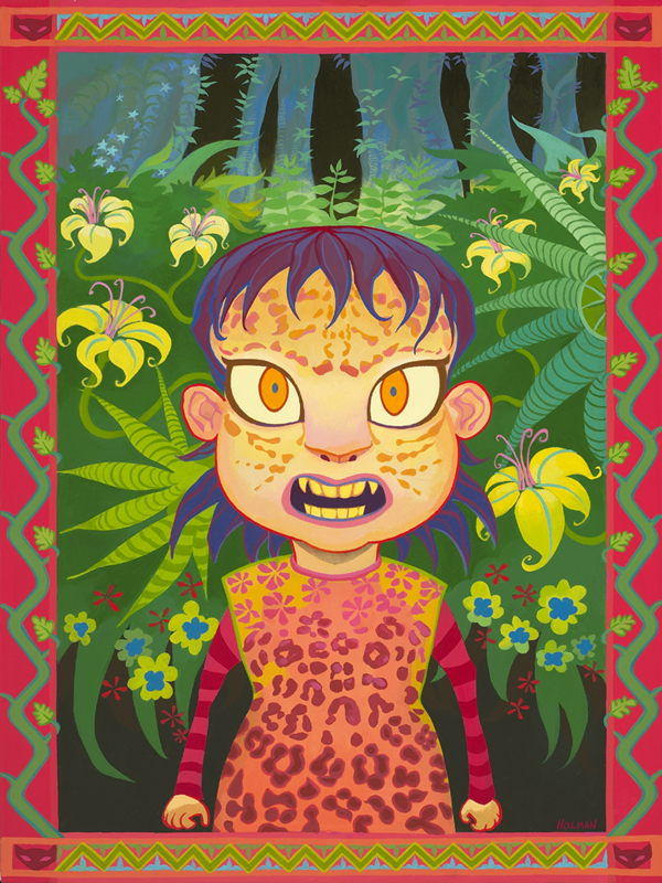 Feral Children #5: Leopard Girl